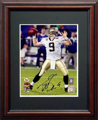 DrewBrees Autograph Sports Memorabilia from Sports Memorabilia On Main Street, sportsonmainstreet.com