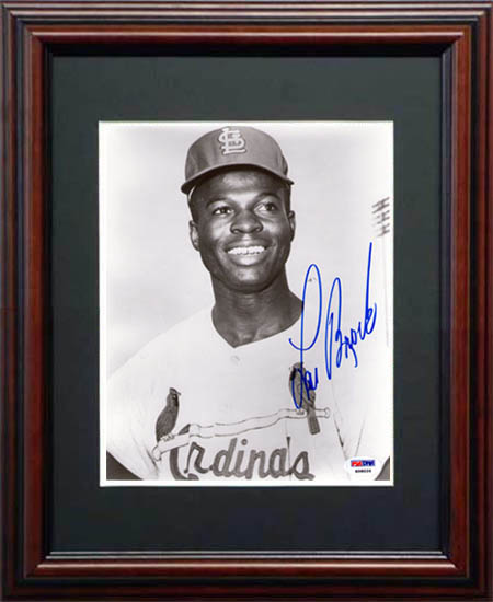 Lou Brock Autograph Sports Memorabilia from Sports Memorabilia On Main Street, sportsonmainstreet.com