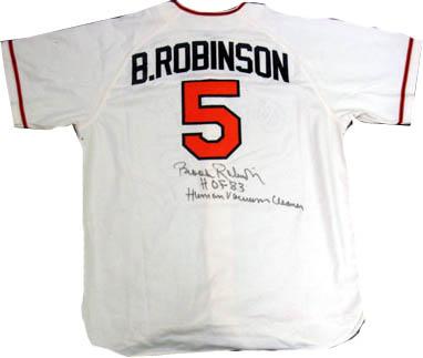 BrooksRobinson Autograph Sports Memorabilia from Sports Memorabilia On Main Street, sportsonmainstreet.com