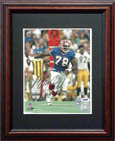 Bruce Smith Autograph Sports Memorabilia, Click Image for more info!