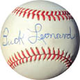 Buck Leonard Autograph Sports Memorabilia, Click Image for more info!