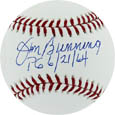 Jim Bunning Autograph Sports Memorabilia, Click Image for more info!