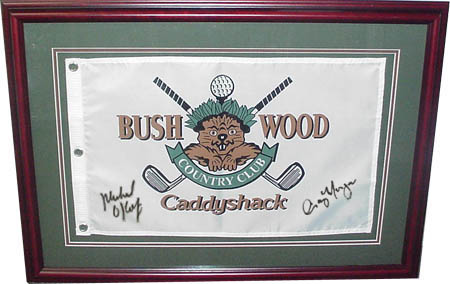 Michael O'Keefe and Cindy Morgan Caddyshack Autograph Sports Memorabilia from Sports Memorabilia On Main Street, sportsonmainstreet.com