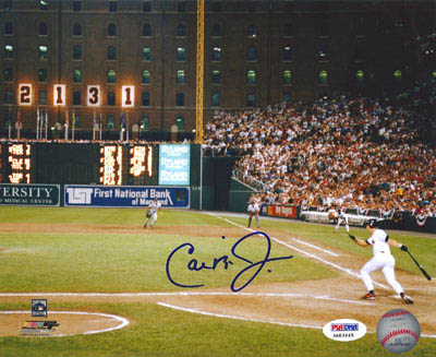 Cal Ripken Jr. Autograph Sports Memorabilia from Sports Memorabilia On Main Street, sportsonmainstreet.com