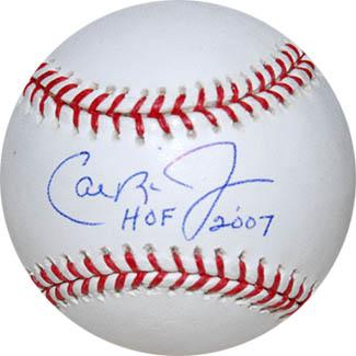 CalRipken Jr. Autograph Sports Memorabilia from Sports Memorabilia On Main Street, sportsonmainstreet.com