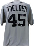Cecil Fielder Autograph Sports Memorabilia, Click Image for more info!