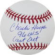 Charlie Hayes Autograph Sports Memorabilia, Click Image for more info!