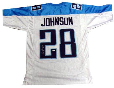 ChrisJohnson Autograph Sports Memorabilia from Sports Memorabilia On Main Street, sportsonmainstreet.com