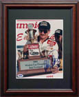 Dale Earnhardt Autograph Sports Memorabilia, Click Image for more info!