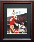 Dwight Clark Autograph Sports Memorabilia, Click Image for more info!