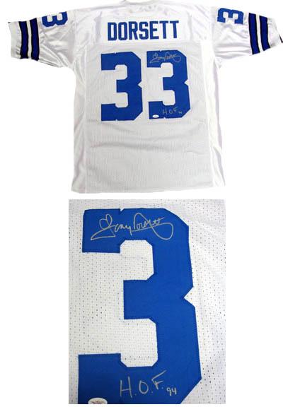 pretty nice 1a9e8 3c03f Tony Dorsett Autographed Sports Memorabilia from Sports ...