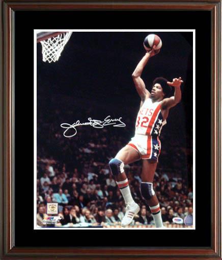 Julius Dr. JErving Autograph Sports Memorabilia from Sports Memorabilia On Main Street, sportsonmainstreet.com