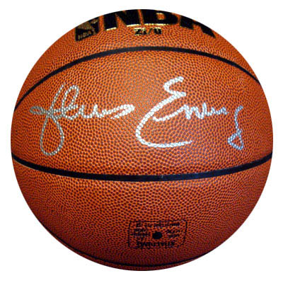 Julius Dr. J Erving Autograph Sports Memorabilia from Sports Memorabilia On Main Street, sportsonmainstreet.com