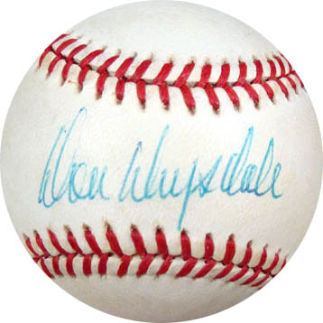 Don Drysdale Autograph Sports Memorabilia from Sports Memorabilia On Main Street, sportsonmainstreet.com