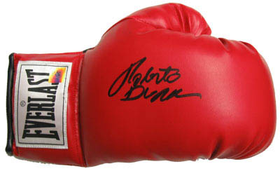 RobertoDuran Autograph Sports Memorabilia from Sports Memorabilia On Main Street, sportsonmainstreet.com