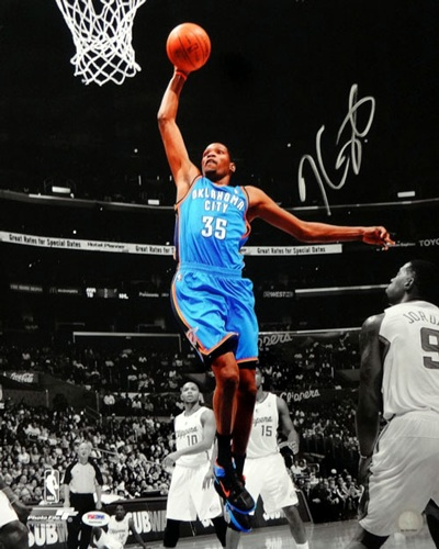 Kevin Durant Autograph Sports Memorabilia from Sports Memorabilia On Main Street, sportsonmainstreet.com