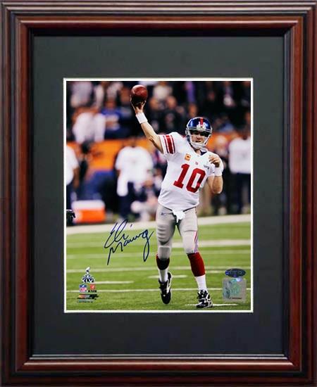 EliManning Autograph Sports Memorabilia from Sports Memorabilia On Main Street, sportsonmainstreet.com