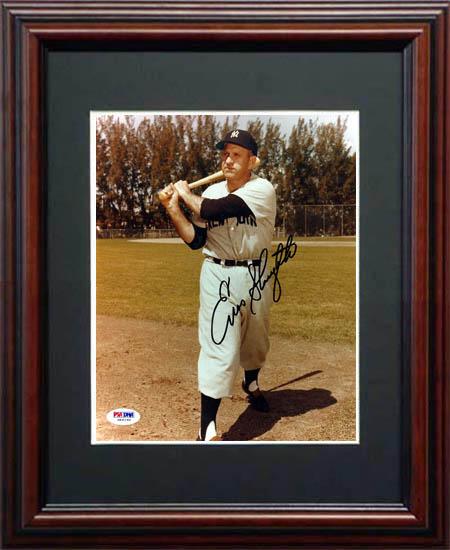 EnosSlaughter Autograph Sports Memorabilia from Sports Memorabilia On Main Street, sportsonmainstreet.com