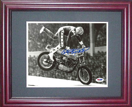 Evel Knievel Autograph Sports Memorabilia from Sports Memorabilia On Main Street, sportsonmainstreet.com