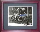 EvelKnievel Autograph Sports Memorabilia, Click Image for more info!