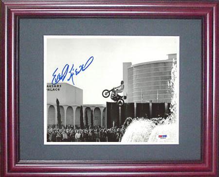 EvelKnievel Autograph Sports Memorabilia from Sports Memorabilia On Main Street, sportsonmainstreet.com