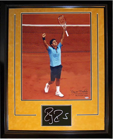 RogerFederer Autograph Sports Memorabilia from Sports Memorabilia On Main Street, sportsonmainstreet.com