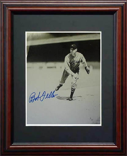 Bob Feller Autograph Sports Memorabilia from Sports Memorabilia On Main Street, sportsonmainstreet.com