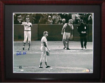 CarltonFisk Autograph Sports Memorabilia from Sports Memorabilia On Main Street, sportsonmainstreet.com