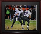 Joe Flacco and Ray Rice Autograph Sports Memorabilia, Click Image for more info!