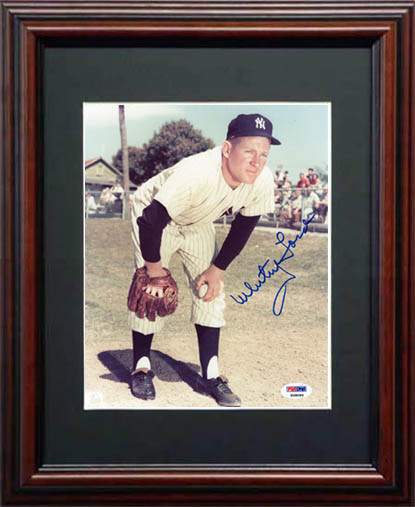 WhiteyFord Autograph Sports Memorabilia from Sports Memorabilia On Main Street, sportsonmainstreet.com