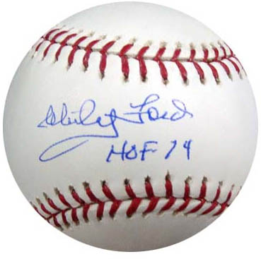 Whitey Ford Autograph Sports Memorabilia from Sports Memorabilia On Main Street, sportsonmainstreet.com