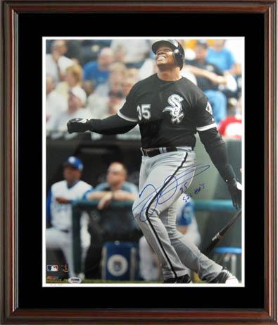 FrankThomas Autograph Sports Memorabilia from Sports Memorabilia On Main Street, sportsonmainstreet.com