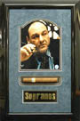 James Gandolfini The Sopranos Autograph Sports Memorabilia On Main Street, Click Image for More Info!