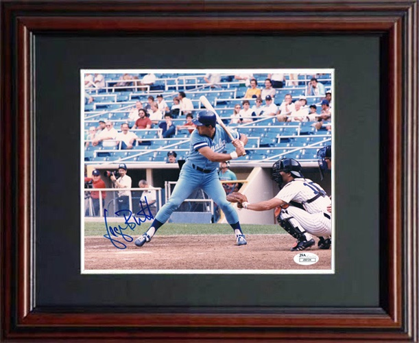 George Brett Autograph Sports Memorabilia from Sports Memorabilia On Main Street, sportsonmainstreet.com