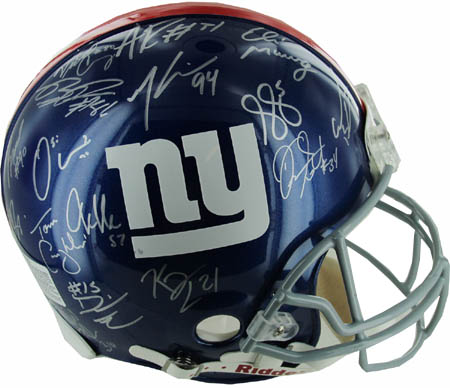 2011 New York Giants Super Bowl Champion Team Autograph Sports Memorabilia from Sports Memorabilia On Main Street, sportsonmainstreet.com