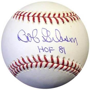 BobGibson Autograph Sports Memorabilia from Sports Memorabilia On Main Street, sportsonmainstreet.com