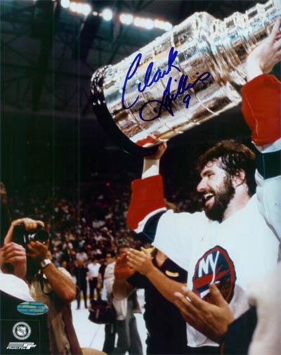 ClarkGillies Autograph Sports Memorabilia from Sports Memorabilia On Main Street, sportsonmainstreet.com