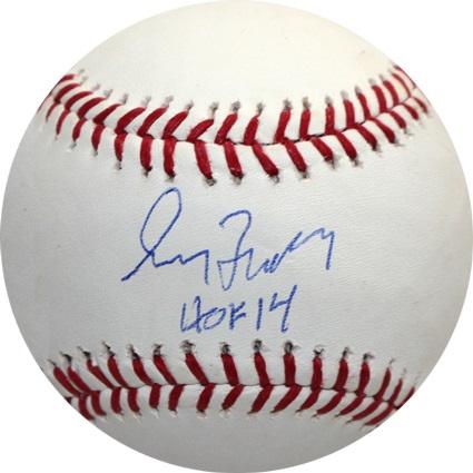 GregMaddux Autograph Sports Memorabilia from Sports Memorabilia On Main Street, sportsonmainstreet.com