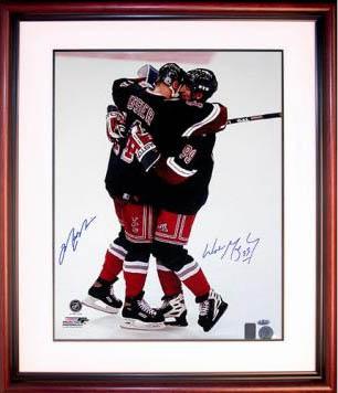 WayneGretzky and Mark Messier Autograph Sports Memorabilia from Sports Memorabilia On Main Street, sportsonmainstreet.com