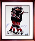 Wayne Gretzky and Mark Messier Autograph Sports Memorabilia, Click Image for more info!