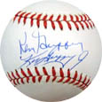 Ken Griffey Jr. and Sr. Autograph Sports Memorabilia, Click Image for more info!