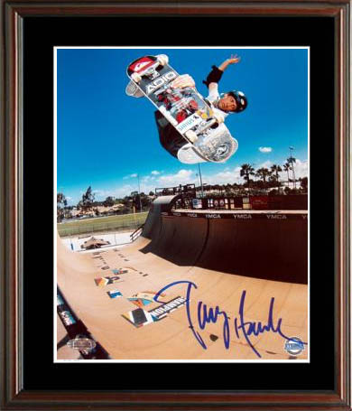 Tony Hawk Autograph Sports Memorabilia from Sports Memorabilia On Main Street, sportsonmainstreet.com