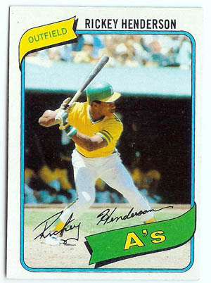 Rickey Henderson Autograph Sports Memorabilia from Sports Memorabilia On Main Street, sportsonmainstreet.com