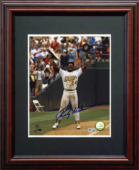 RickeyHenderson Autograph Sports Memorabilia from Sports Memorabilia On Main Street, sportsonmainstreet.com