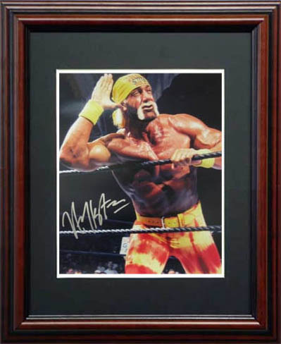 Hulk Hogan Autograph Sports Memorabilia from Sports Memorabilia On Main Street, sportsonmainstreet.com