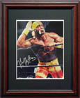 Hulk Hogan Autograph Sports Memorabilia, Click Image for more info!