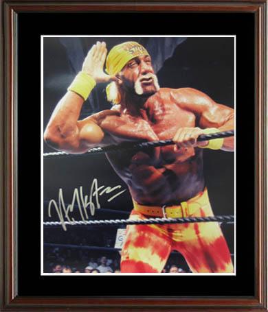 HulkHogan Autograph Sports Memorabilia from Sports Memorabilia On Main Street, sportsonmainstreet.com