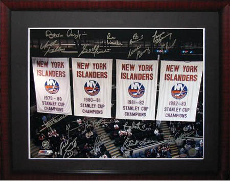 New York Islanders Autograph Sports Memorabilia from Sports Memorabilia On Main Street, sportsonmainstreet.com