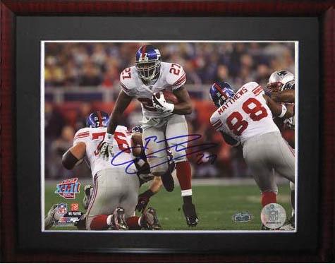 BrandonJacobs Autograph Sports Memorabilia from Sports Memorabilia On Main Street, sportsonmainstreet.com