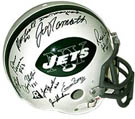 1969 New York Jets Super Bowl Champion Team Autograph Sports Memorabilia, Click Image for more info!